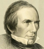 A engraving of Henry Clay by John Chester Buttre.