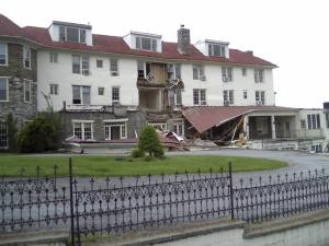 The Hilltop House Hotel as seen today.