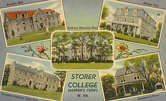A 1910 postcard of Storer College