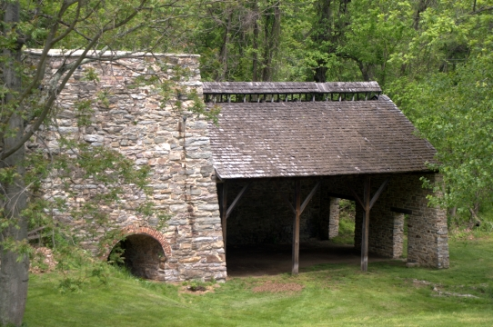 Remains of the Catoctin Furnace