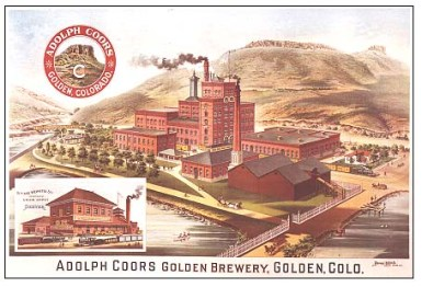 adolph coors golden brewery